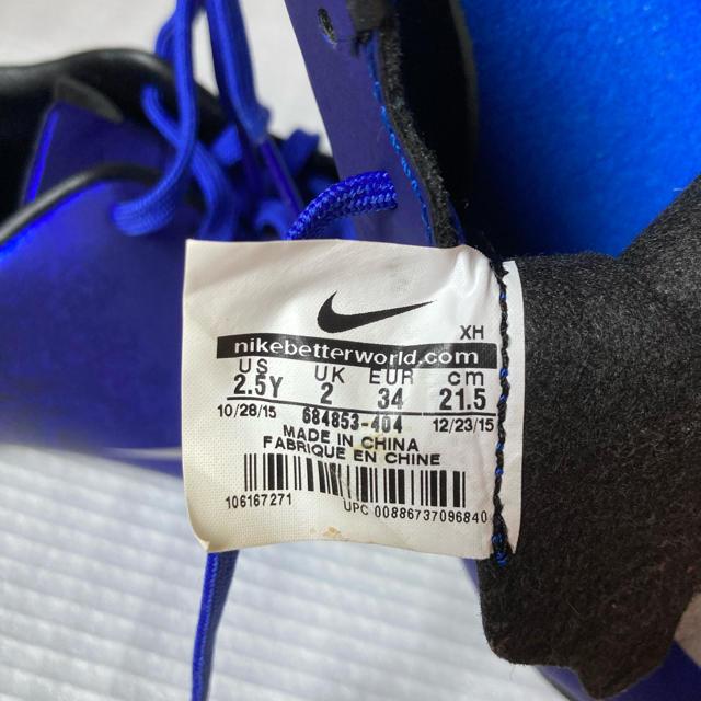 NIKE(ナイキ)の美品21.5cm NIKEトレシュ スポーツ/アウトドアのサッカー/フットサル(シューズ)の商品写真