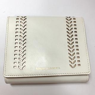 トプカピ(TOPKAPI)のトプカピ 二つ折り財布  レザー ホワイト(折り財布)
