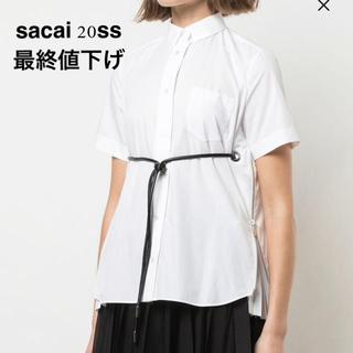sacai - sacai サカイ 20SS プリーツシャツ