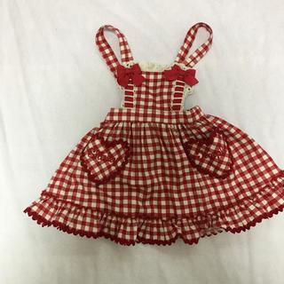 Shirley Temple - シャーリーテンプル ギンガムジャンパースカート90センチ