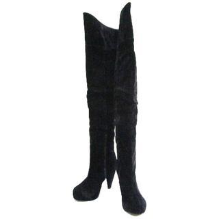 スライ(SLY)のSLY(スライ) ロングブーツ L レディース 黒(ブーツ)