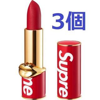 シュプリーム(Supreme)の3個 Supreme Pat McGrath Labs Lipstick(口紅)