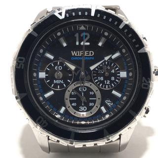 ワイアード 腕時計 VK63-K270 メンズ 黒(その他)