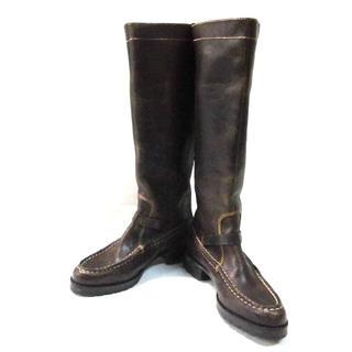 ラルフローレン(Ralph Lauren)のラルフローレン ロングブーツ 6 C レザー(ブーツ)