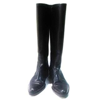ラルフローレン(Ralph Lauren)のラルフローレン ロングブーツ 6 1/2 C 黒(ブーツ)