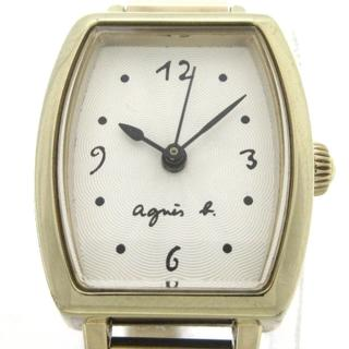 アニエスベー(agnes b.)のアニエスベー 腕時計 1N01-0RZ0 レディース(腕時計)
