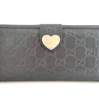 グッチ(Gucci)のグッチ 長財布 シマライン 203550 黒(財布)