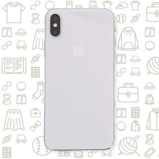 アイフォーン(iPhone)の【C】iPhoneX/256/ドコモ(スマートフォン本体)