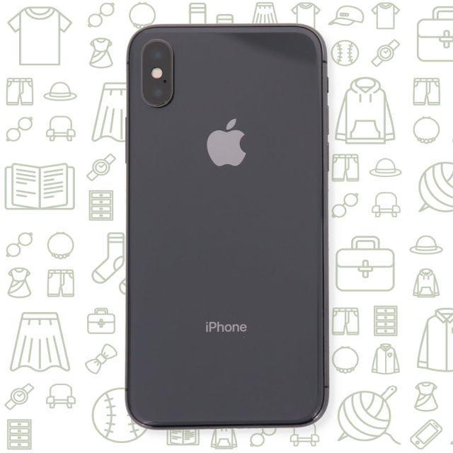 iPhone(アイフォーン)の【B】iPhoneX/256/SIMフリー スマホ/家電/カメラのスマートフォン/携帯電話(スマートフォン本体)の商品写真