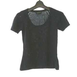 グッチ(Gucci)のグッチ 半袖セーター サイズM レディース(ニット/セーター)