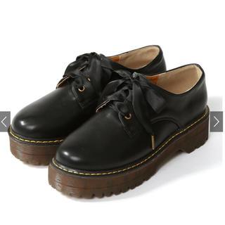 グレイル(GRL)のGRL* 厚底レースアップシューズ(ローファー/革靴)