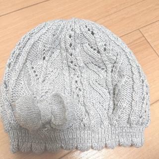 エイチアンドエム(H&M)のH&M  ベビーニット 帽子 (帽子)