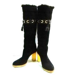 グッチ(Gucci)のGUCCI(グッチ) ロングブーツ 34 1/2 C(ブーツ)