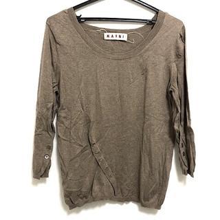 マルニ(Marni)のMARNI(マルニ) 七分袖セーター サイズ38 S(ニット/セーター)