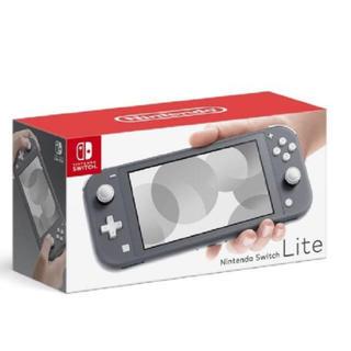 ニンテンドースイッチ(Nintendo Switch)のNintendo Switch  Lite グレー 新品(家庭用ゲーム機本体)