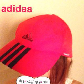 アディダス(adidas)のアディダス キャップ赤(キャップ)