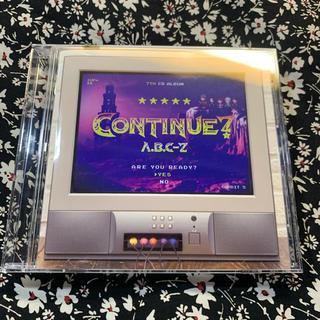 エービーシーズィー(A.B.C.-Z)の【一度のみ再生】A.B.C-Z♡CONTINUE? 通常盤(ポップス/ロック(邦楽))