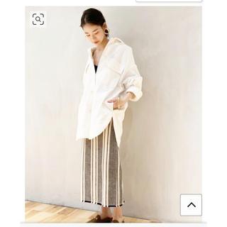 プラージュ(Plage)のplage メキシカンツイードスカート  34(ロングスカート)