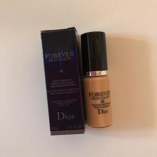 ディオール(Dior)のDior ディオールスキン フォーエヴァー フルイド グロウ 2N(ファンデーション)