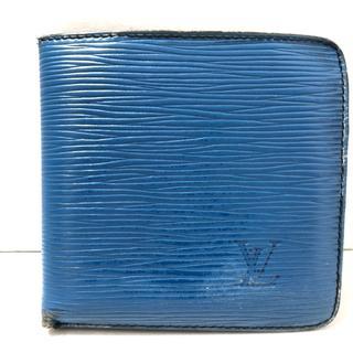 ルイヴィトン(LOUIS VUITTON)のルイヴィトン 2つ折り財布 エピ M63545(財布)