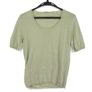 プラダ(PRADA)のPRADA(プラダ) 半袖セーター サイズ42 M(ニット/セーター)