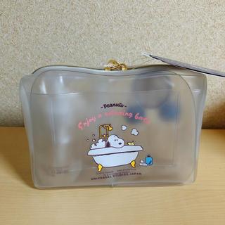 スヌーピー(SNOOPY)のスヌーピー スキンケア 化粧品 お泊まりセット ポーチ(その他)