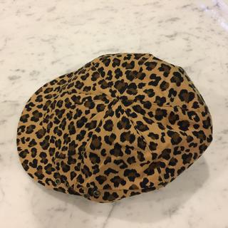 レイビームス(Ray BEAMS)の美品♡RAYBEAMSレイビームス♡レオパード柄ハンチング帽(ハンチング/ベレー帽)
