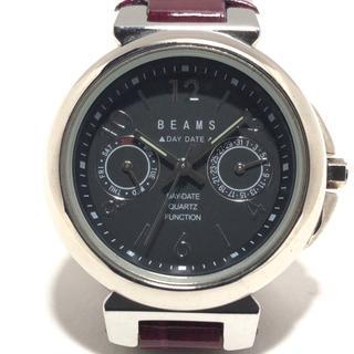 ビームス(BEAMS)のBEAMS(ビームス) 腕時計 レディース 黒(腕時計)