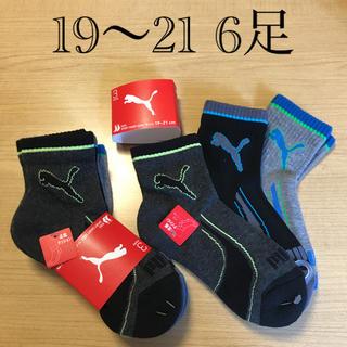 プーマ(PUMA)の19 20 21 6足 プーマ ソックス キッズ 男の子 靴下(靴下/タイツ)