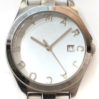 マークバイマークジェイコブス(MARC BY MARC JACOBS)のマークジェイコブス 腕時計 MBM3036 白(腕時計)