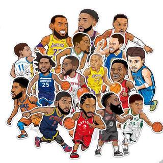 NBA選手 ステッカー 16枚セット