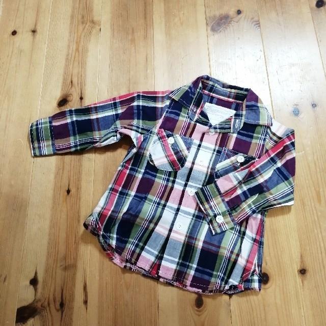 MARKEY'S(マーキーズ)の〈80〉マーキーズ 長袖 シャツ キッズ/ベビー/マタニティのベビー服(~85cm)(Tシャツ)の商品写真