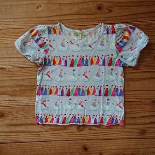 フェフェ(fafa)のfafa スワン Tシャツ 120 極美品(Tシャツ/カットソー)