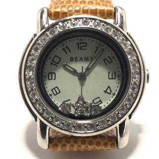 ビームス(BEAMS)のビームス 腕時計 レディース アイボリー(腕時計)