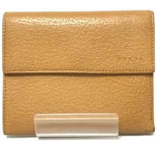 プラダ(PRADA)のプラダ 3つ折り財布 - ライトブラウン(財布)