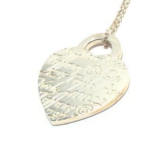 ティファニー(Tiffany & Co.)のティファニー ネックレス ハートタグ(ネックレス)