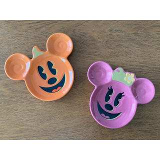 Disney - ディズニー ハロウィン スーベニアプレート2点