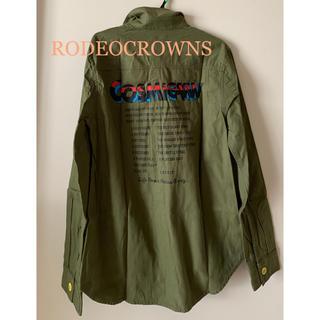 RODEO CROWNS - 新品★ロデオクラウンズ RODEOCROWNS★長袖シャツ★バックプリント