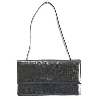 カルバンクライン(Calvin Klein)のカルバンクライン ハンドバッグ 黒 レザー(ハンドバッグ)