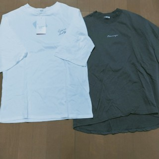しまむら - プチプラのあや、ティシャツ二枚セット٩(♡ε♡ )۶