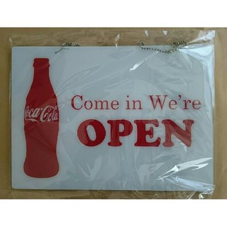 コカ・コーラ - ★当時品★希少!激レア!★コカコーラ★open・プレート★非売品★未使用★昭和