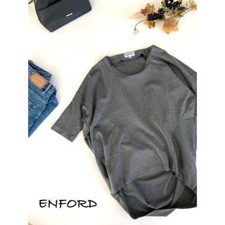 ENFOLD - 【ENFORD】コクーンシルエットプルオーバー