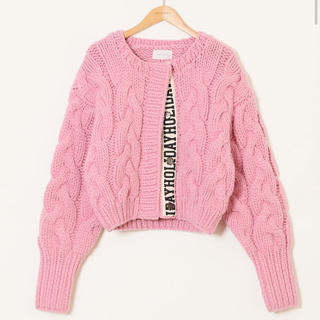 holiday - HOLIDAY CABLEKNIT CARDIGAN ホリデーholiday