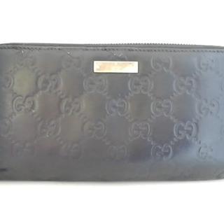 グッチ(Gucci)のグッチ 長財布 シマライン 112724 黒(財布)