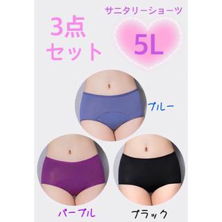 【新品・未開封】サニタリーショーツ 大きいサイズ 5L(ショーツ)