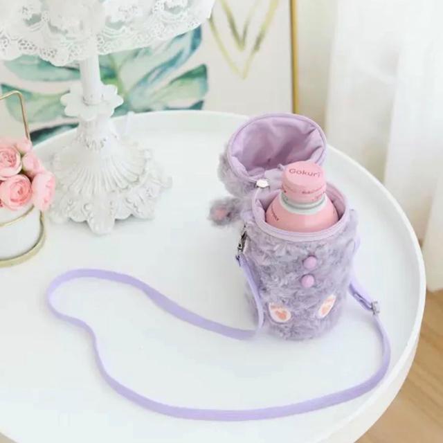 ダッフィー(ダッフィー)の日本未発売 ダッフィー  水筒カバー 保温カバー ショルダータイプ ラス1  エンタメ/ホビーのおもちゃ/ぬいぐるみ(キャラクターグッズ)の商品写真
