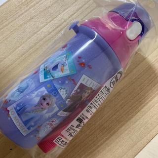 アナトユキノジョオウ(アナと雪の女王)のアナ雪☆直飲みプラワンタッチボトル(水筒)