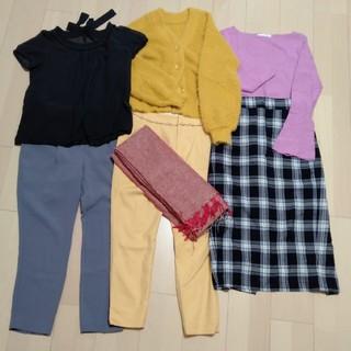 リリーブラウン(Lily Brown)のお洋服7点まとめ売り★S〜Mサイズ(セット/コーデ)