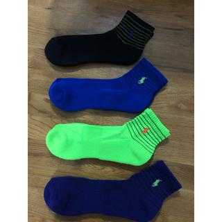 ラルフローレン(Ralph Lauren)の新品ポロラルフローレン メンズ靴下 ソックス  4足セット22(ソックス)
