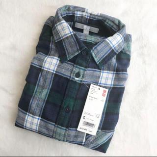 ユニクロ(UNIQLO)のユニクロフランネルシャツ(シャツ/ブラウス(長袖/七分))